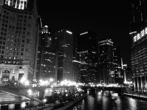 Chicagoの街