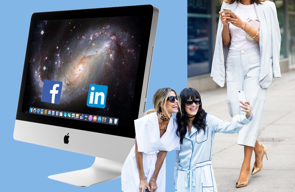 ソーシャルメディアにおける、ビジネスライフとパーソナルライフの管理