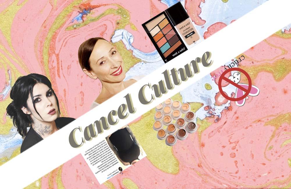 アメリカのビューティ界で最近目立っている「キャンセル・カルチャー」について