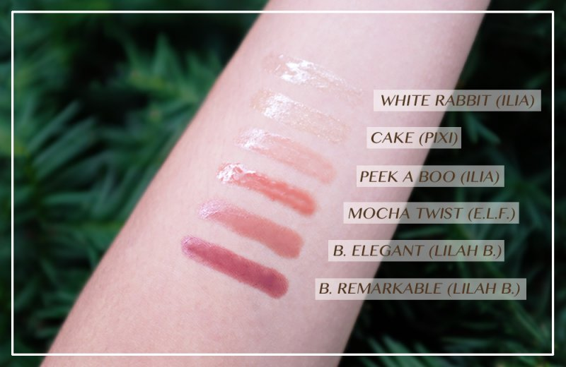 LIPSGLOSSSWATCHES