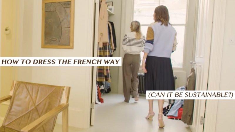 フランスのファッションにはサステイナブルなアイデアが詰まっていた