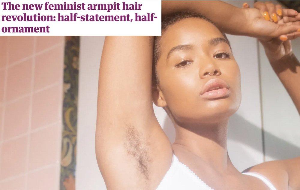 毛を剃るのが当たり前なのはおかしい。かといって、剃らないことだけが正しいわけでもない。必要なのは自由な選択肢だと思います。