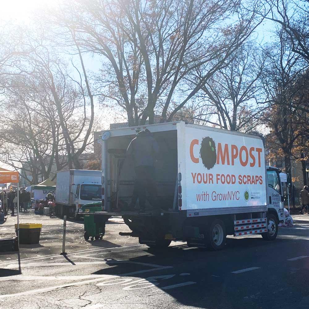 compost truck