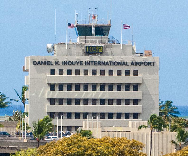 Daniel K Inouye International Airport Tower only